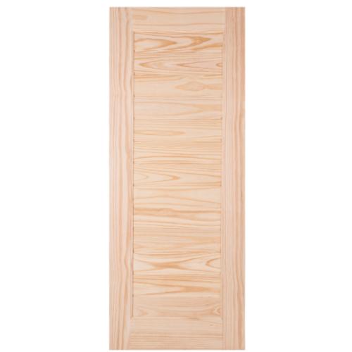 WINDOOR ประตูลวดลาย สนNz  ขนาด 70x200 ซม. L 162