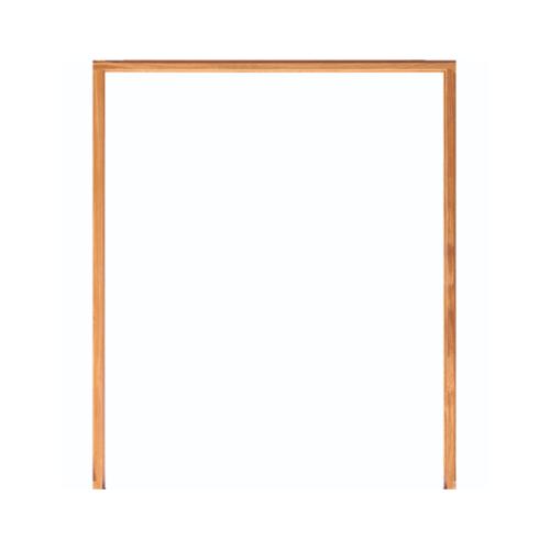 WINDOOR วงกบประตู  เต็งแดง ขนาด200x200 ซม. 2x4นิ้ว COM 6 สีน้ำตาล