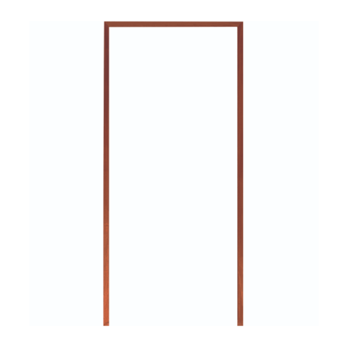 WINDOOR วงกบประตู Com 1 ไม้แดงขนาด  80x200 ซม. 2x4 นิ้ว