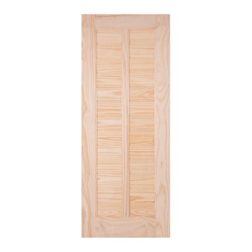 WINDOOR ประตูลวดลาย L 163 สนNz  90x200 L 163 สีเหลือง