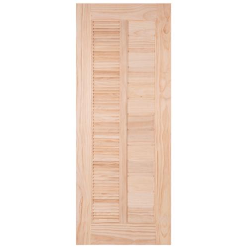 WINDOOR ประตูลวดลาย สนNz  ขนาด 90x200cm. L 164 สีเหลือง