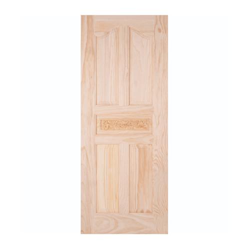 WINDOOR ประตูสลักลาย L 118 สนNz 100x200 L 118 สีเหลือง