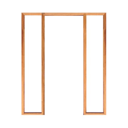 WINDOOR วงกบประตู เต็งแดง ขนาด 80x200 ซม. COM 3 สีน้ำตาล