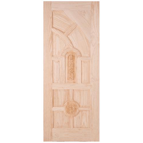WINDOOR ประตูสลักลาย L 555 สนNz 80x180 L 555