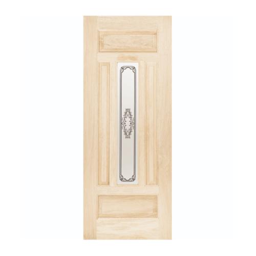 WINDOOR ประตู+กระจก TASMANIAN สนNz 100x200 สีเหลือง