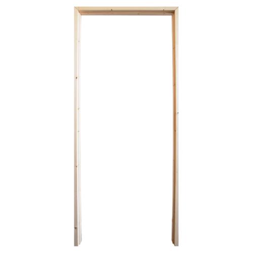 WINDOOR วงกบประตู เรดวูด ขนาด70x200ซม.  COM 1 สีครีม