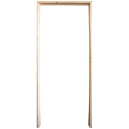 WINDOOR วงกบประตู เรดวูด ขนาด100x200 ซม. Com 1