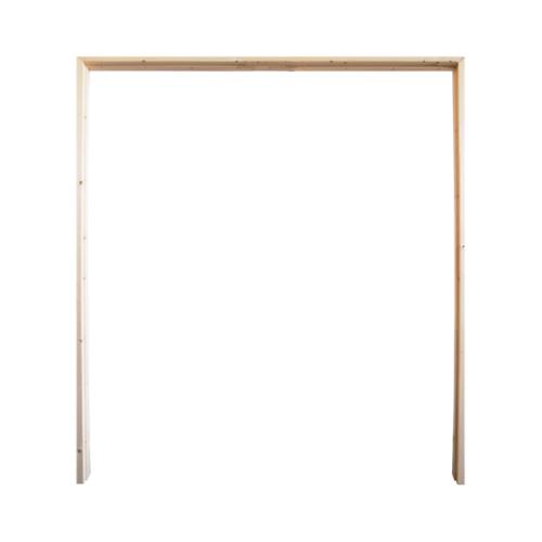 WINDOOR วงกบประตูไม้เรดวูด  ขนาด 180x200ซม.2x4นิ้ว