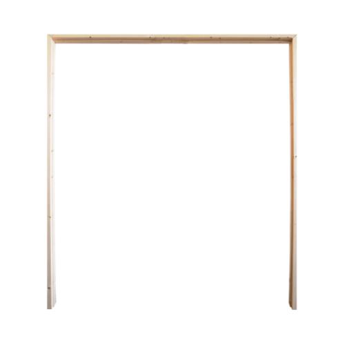 WINDOOR  วงกบประตูไม้เรดวูด ขนาด 140x200ซม. 2x4นิ้ว Com 6