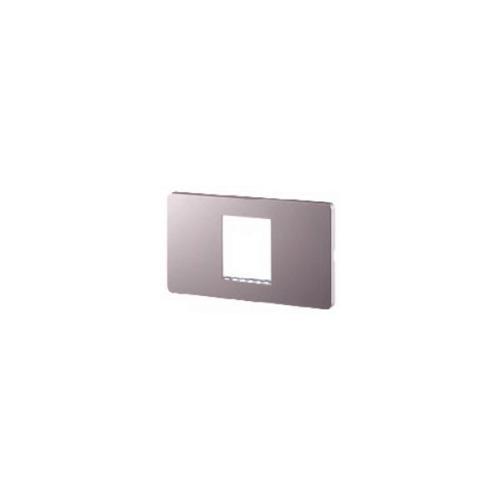 CHANG ฝาพลาสติก 1 ช่องกลาง สีพิงค์โกลด์ i-Modern C-405C-PG สีชมพู