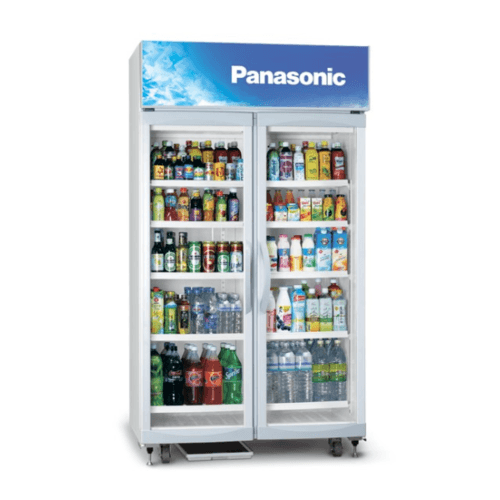 PANASONIC ตู้แช่เครื่องดื่ม 2 ประตู SCB-P2DSA สีขาว