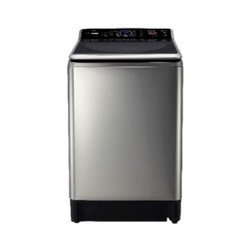 PANASONIC เครื่องซักผ้าฝาบน NA-FS16V7SRC สีเทา