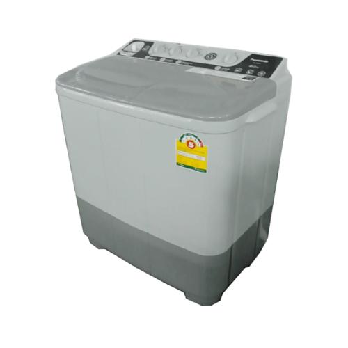 PANASONIC เครื่องซักผ้า 2 ถัง ขนาด 8 KG NA-W800E สีเทา