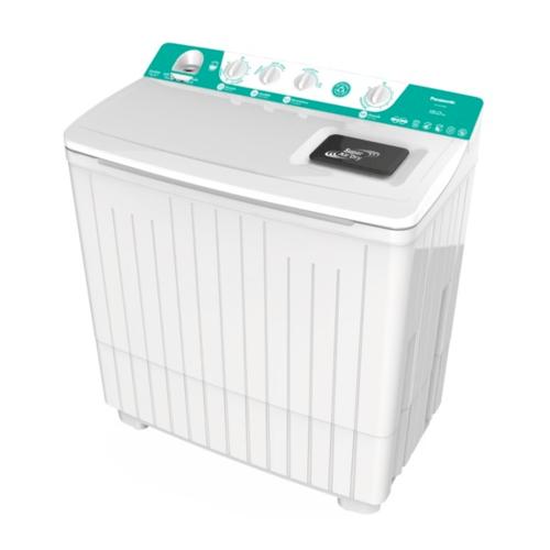 PANASONIC เครื่องซักผ้า 2 ถัง ขนาด 14 KG  NA-W1400E สีเขียว