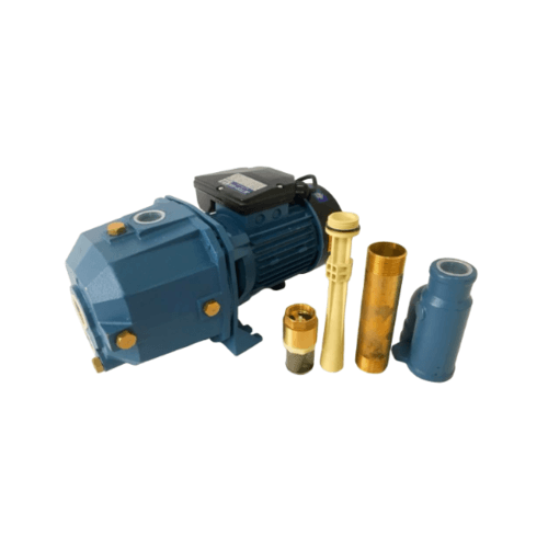 SAXON PUMPS ปั๊มดูดน้ำลึก JET-DP SX-JETDP-550 สีน้ำเงิน