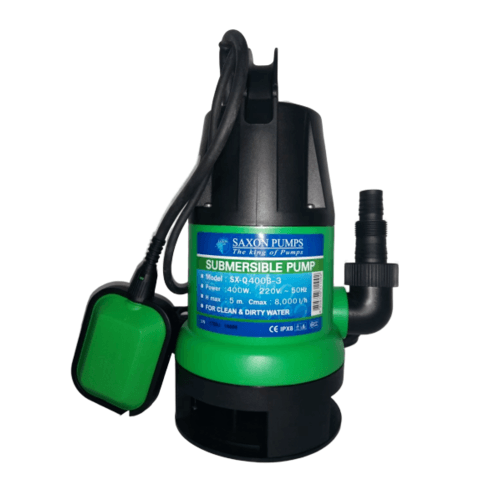 SAXON PUMPS ปั๊มจุ่ม  SX-Q400B-3 สีเขียว