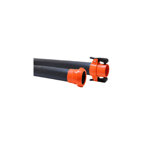 Super Products  ท่อ HDPE PN 8  พร้อมข้อต่อ Super Quick ตัวผู้-ตัวเมีย ขนาด 63 มม. HDPE SQ