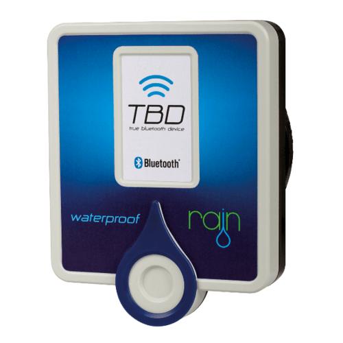 RAIN TBD4 ตัวควบคุม Bluetooth ชนิดกันน้ำ 4 สถานี TBD 4OD สีฟ้า