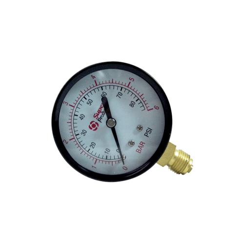 Super Products เกจวัดแรงดันแบบแห้ง 0-6 บาร์ PG