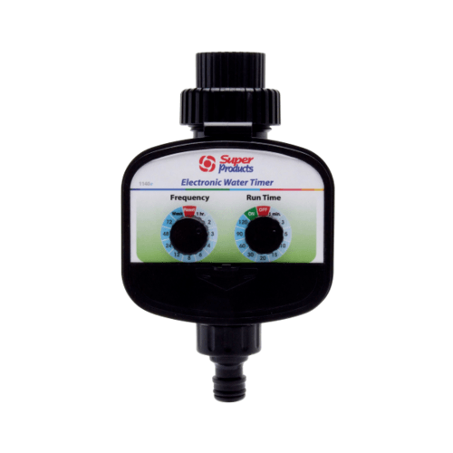 Super Products วาล์วตั้งเวลารดน้ำอัตโนมัติ 3/4 นิ้ว 1140E ดำ