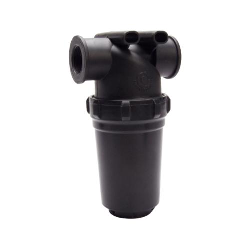 Super Products กรองน้ำเกษตรชนิดตะแกรง รุ่นยาว 1/2 นิ้ว MF-C12 ดำ