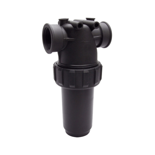 Super Products กรองน้ำเกษตรชนิดตะแกรง รุ่นยาว 1.1/2 นิ้ว MF-C112 ดำ