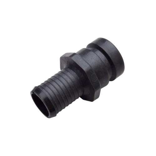Super Products ข้อต่อสวมเร็ว 1.1/2นิ้ว Cam Lock-A ดำ