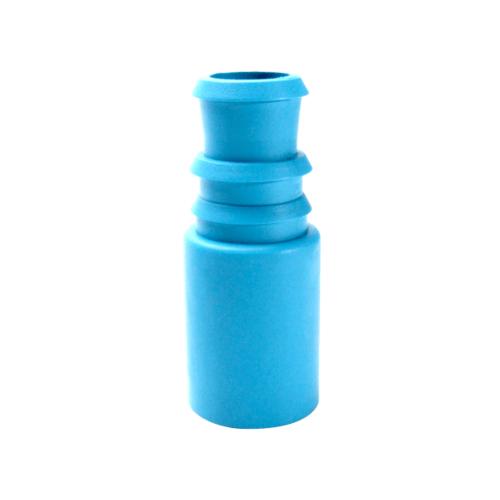 Super Products ข้อต่อตรงพีวีซี-พีอี 3/4 นิ้ว x 25 มม. (5 ตัว / แพ็ค) SI-PVC ฟ้า