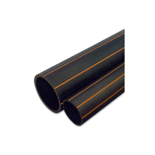 """Super Products ท่อ LDPE  แรงดัน4 ขนาด 40 มม.100 ม.คาดส้ม(1.1/4"""")"""