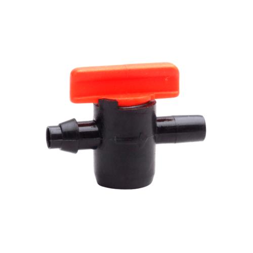 Super Products มินิวาล์ว สำหรับมินิสปริงเกลอร์ ขนาด 4 มม. (10ตัว/แพ็ค) LV 04 แดง-ดำ