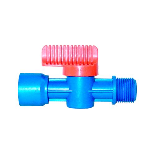Super Products วาล์วเกลียวสำหรับพีวีซี 1/2 นิ้ว L PVC