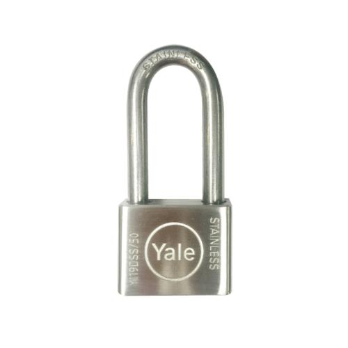 YALE กุญแจคล้องสแตนเลส SD50L