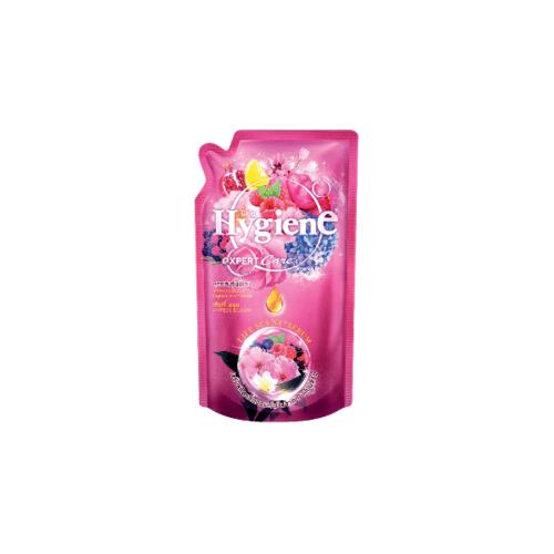 Hygiene ไฮยีนเอ็กซ์เพิร์ทแคร์ เลิฟลี่บลูม ชมพู 580 มล. Hygiene FS Expert Care 580 สีชมพู