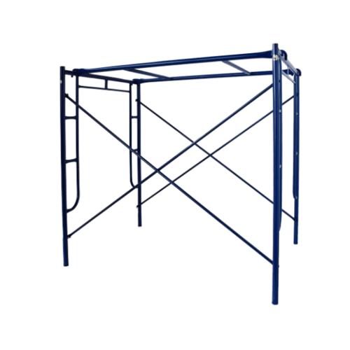 ตราช้าง นั่งร้านสูง 90 cm (หนา2.0) ครบชุดพ่นน้ำเงิน 2  มม. สีน้ำเงิน