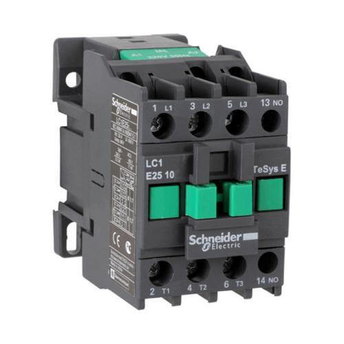 SCHNEIDER แมกเนติคคอนแทคเตอร์ LC1E2501Q5 EasyPact contactor สีเทา