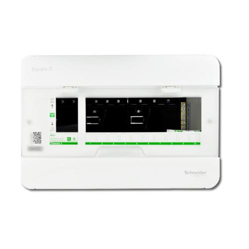 SCHNEIDER ตู้คอนซูมเมอร์ยูนิต 10 ช่อง คลาสสิคพลัส CLASSIC PLUS Schneide Square D Classic+ สีขาว