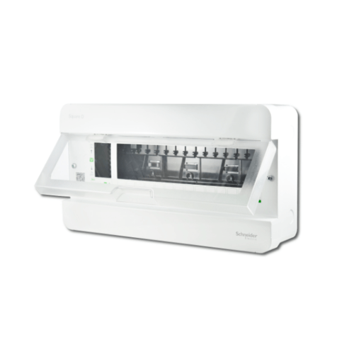 SCHNEIDER ตู้คอนซูมเมอร์ยูนิต 14 ช่อง คลาสสิคพลัส CLASSIC PLUS Schneider Square D Classic+ สีขาว