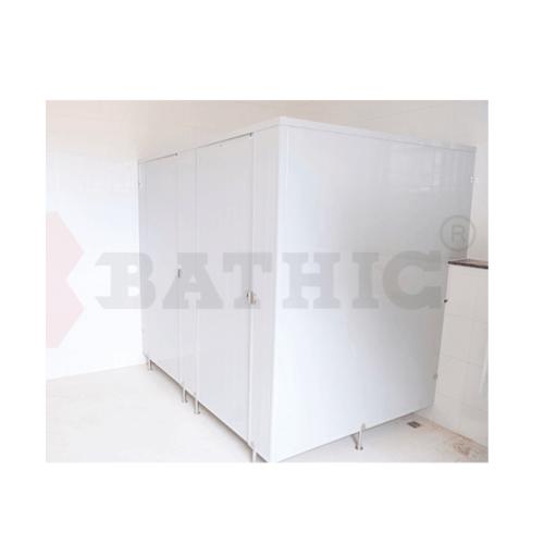 BATHTIC ผนังห้องน้ำพีวีซี แผงพาร์ทิชั่น 160x200cm. สีเทา BATHIC PT สีเทา
