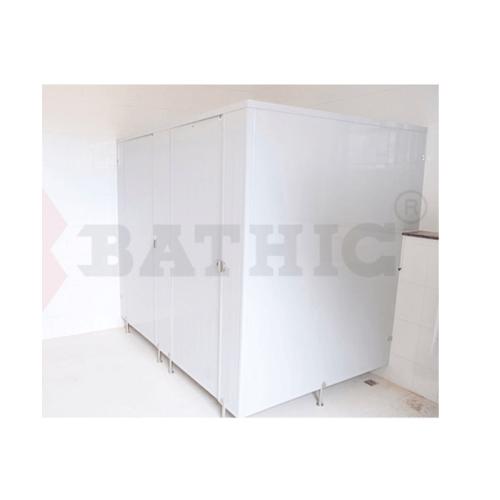 BATHIC ผนังห้องน้ำพีวีซี แผงพาร์ทิชั่น 50x90 cm. สีเทา BATHIC PT สีเทา