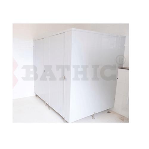 BATHIC ผนังห้องน้ำพีวีซี แผงพาร์ทิชั่น 20x190 cm.สีครีม BATHIC PT สีครีม