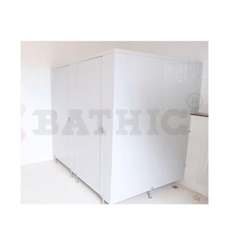 BATHIC ผนังห้องน้ำพีวีซี แผงพาร์ทิชั่น 40x190 cm.สีครีม BATHIC PT สีครีม
