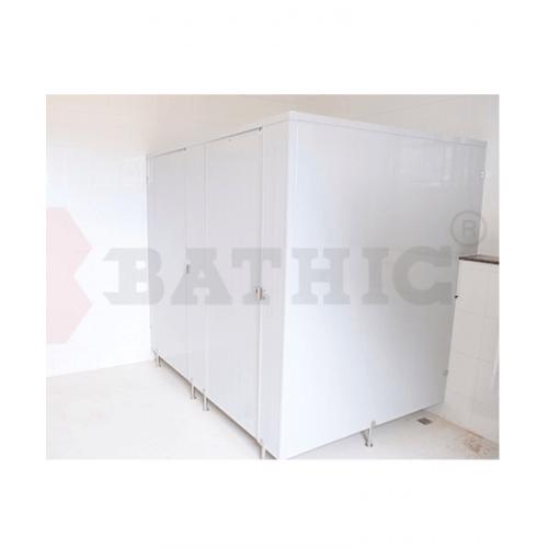 BATHIC ผนังห้องน้ำพีวีซี แผงพาร์ทิชั่น 70x190 cm.สีครีม BATHIC PT สีครีม