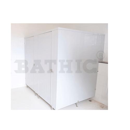 BATHIC ผนังห้องน้ำพีวีซี แผงพาร์ทิชั่น 40x190 cm. PT สีครีม