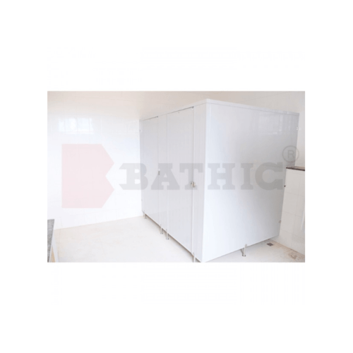BATHIC ผนังห้องน้ำพีวีซี แผงพาร์ทิชั่น 22x200 cm.สีเทา BATHIC PT