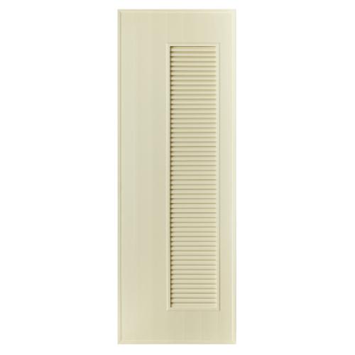 BATHIC ประตู PVC ขนาด 70x80 ซม. ไม่เจาะ BS5 สีครีม