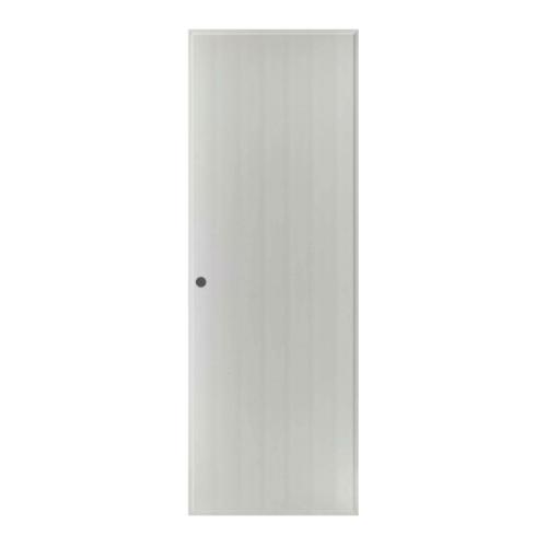 BATHIC ประตู PVC  ขนาด 90x192 ซม. เจาะ BS1 สีเทา