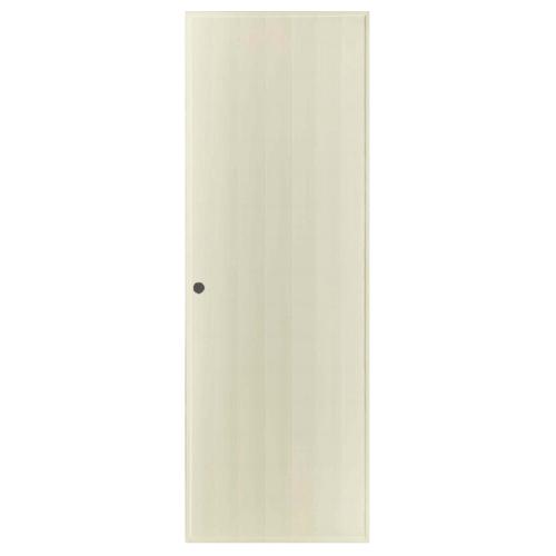 BATHIC ประตูพีวีซี  ขนาด 40x200 ซม. (เจาะ)  BS1 สีครีม