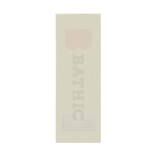 BATHIC  ประตูพีวีซี เกล็ดล่าง (ไม่เจาะ) ขนาด  90x194ซม.  BC2 สีครีม