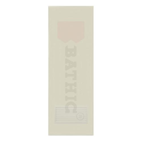 BATHIC  ประตูพีวีซี เกล็ดล่าง ขนาด79x197ซม (ไม่เจาะ)  BC2 สีครีม
