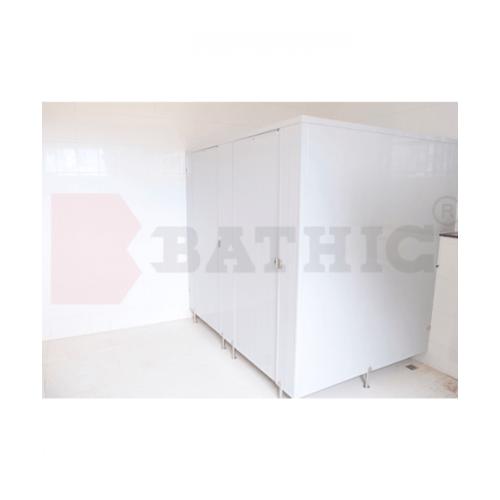 BATHIC ผนังห้องน้ำพีวีซี แผงพาร์ทิชั่น 50x60 cm . BATHIC PT